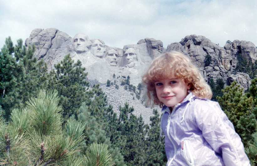 I've apparently been to visit Mt. Rushmore, but have no memory of it.