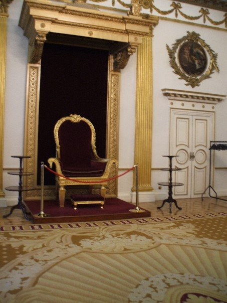 Throne room at Dublin Castle