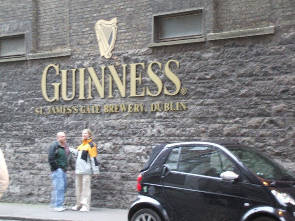 Took a visit to the Guinness Storehouse!!