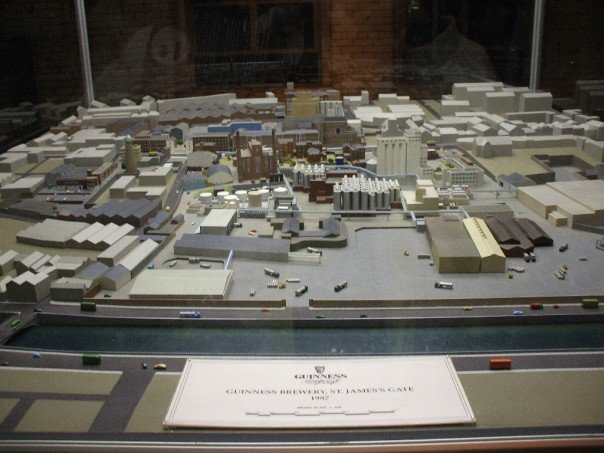 Mini model of what the factory looked like in 1987.
