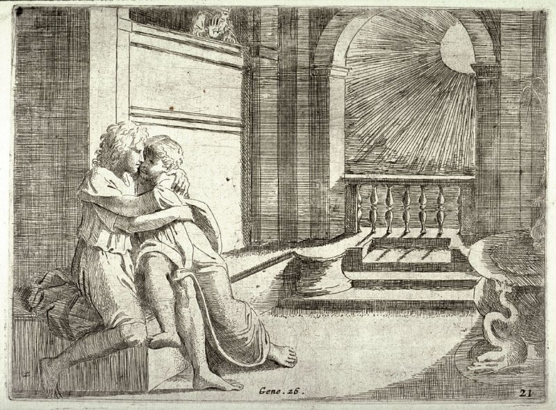 Abimelech Seeing His Wife Rebecca Caressed by Isaac | Image Source: art.famsf.org