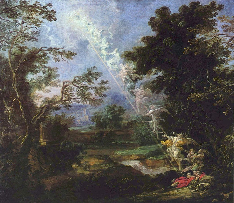 Jacob's Dream by Michael Willmann | Wikipedia