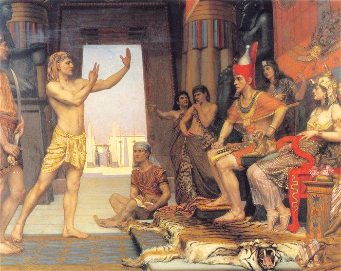Joseph interpreting the Pharaoh's Dream by Arthur Reginald