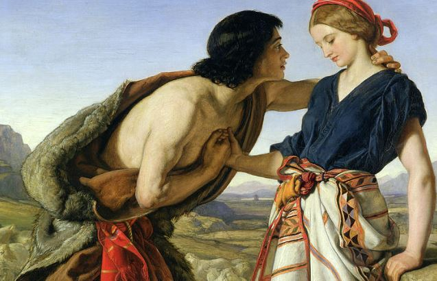 The Meeting Of Jacob And Rachel by William Dyce